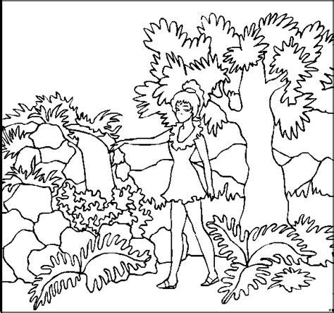 maedchen im garten ausmalbild malvorlage kinder