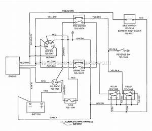 32 Mtd Riding Lawn Mower Wiring Diagram