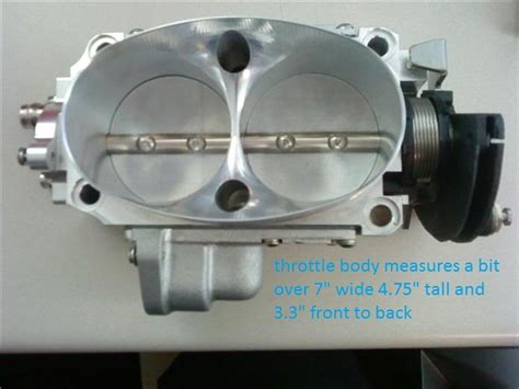 Throttle Body Size, 52mm, Vs, 58mm