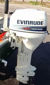 2000 Evinrude 25 U0026quot  Shaft Extra Long Shaft 4 Stroke Outboard