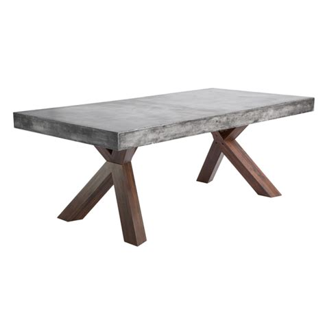 cement top dining table warwick concrete rectangular dining table buy other tables