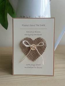 best 25 hessian wedding ideas on pinterest rustic With handmade wedding invitations manchester