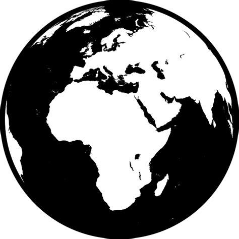 vector graphic africa asia earth europe globe
