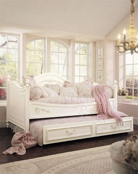 shabby chic daybeds shabby chic daybed bedding princess daybed full timber or rattan combi price including
