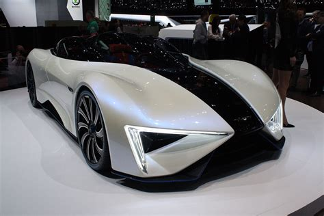 Electric Auto by This Techrules Ren Supercar From China Has 1287 Hp