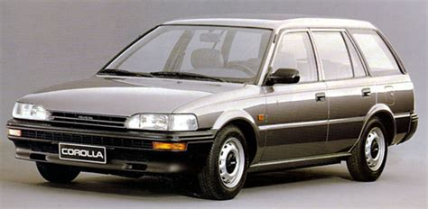 toyota corolla stationwagon  pictures    cars