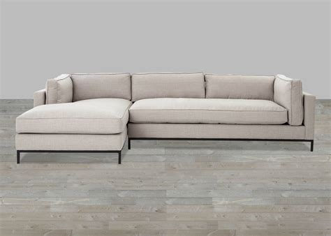 sofa with chaise lounge beige linen sofa with chaise lounge