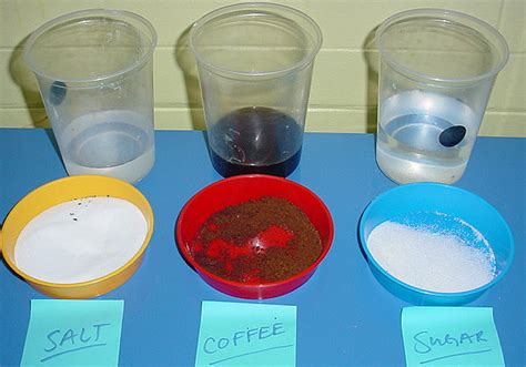 lesson plan  soluble insoluble solids general science