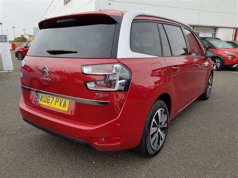 Citroen Used Cars by Citroen Grand C4 Picasso 1 6 Bluehdi Flair Eat6 S S 5dr
