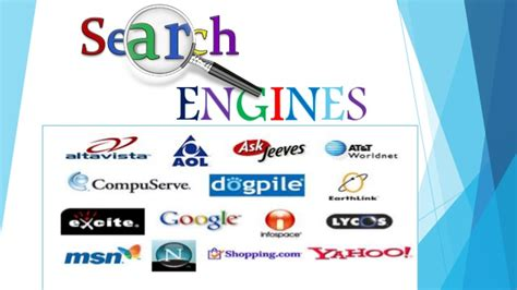 Explain Search Engine by Search Engines And Its Types