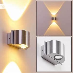 Lampe Mit Eigenen Fotos : lente wandleuchte led aluminium led132 ~ Lizthompson.info Haus und Dekorationen