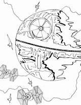Coloring Star Death Wars Potter Sheets Harry Popular Niobrarachalk Coloringhome sketch template