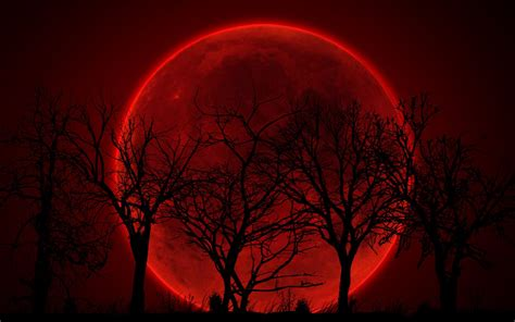 red moon wallpaper hd pixelstalknet