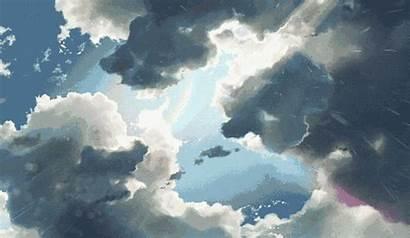 Rain Blessed Cloudy Gifs Water Rains Raining