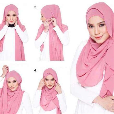 model hijab kantoran simpel  praktis banget modelbusana