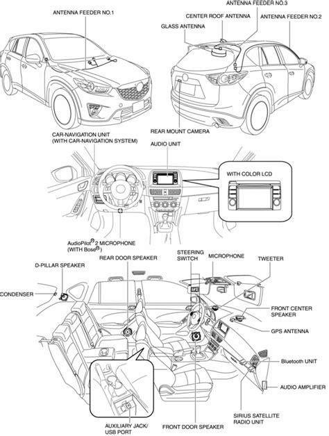 Mazda Service Repair Manual Audio System