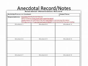 Image result for anecdotal notes template teachers class for Anecdotal assessment template