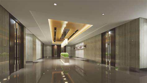 modern lobby office building  cgtrader
