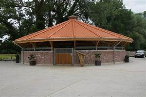 56 best images about dream barn round pens on pinterest With brick horse barns