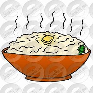 Mashed Potatoes Clipart - Clipart Suggest
