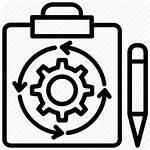 Management Task Icon Oriented Resource Human Relations
