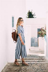 Dash of Darling Shares What to Wear in Pyrgos, Santorini