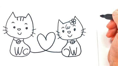 como dibujar unos enamorados paso  paso dibujo facil de enamorados youtube