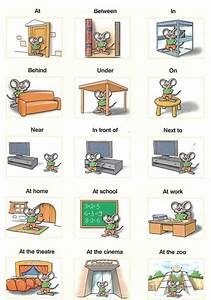 100+ [ Worksheet Prepositions Of Place And Movement ...