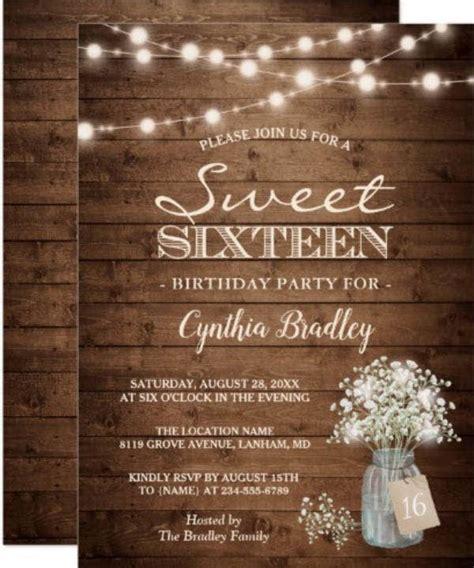 11+ Sweet Sixteen Birthday Invitation Designs & Templates