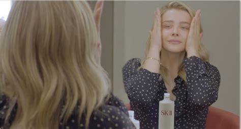 chloe moretz skincare sk ii partners with actress chloe grace moretz beauty