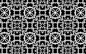 Clipart - Black And White Pattern 5
