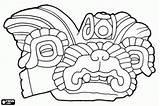 Coloring Zapotec Pages Culture Mixtec Columbian Pre Ornament Civilization Fragment Vessel Ceramic Oncoloring sketch template