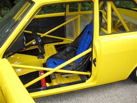 Datsun 510 Roll Cage by Turbo Rotary Datsun 510