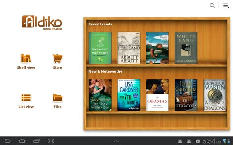 best ebook reader for android aldiko 2 1 the best ereader app for android just