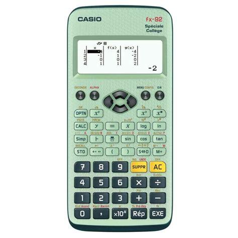 bureau central francais calculatrice scientifique casio fx92 d2 vente