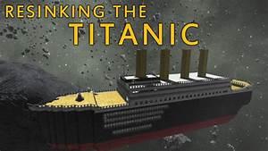 Space Engineers - Titanic - Increasingly dramatic crashes ...