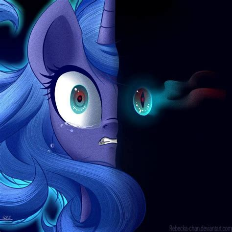The Good And Dark Side Of Luna My Little Pony