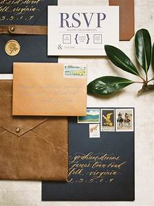 Place Card Envelopes Navy And Leather Bachelor Party Invitations