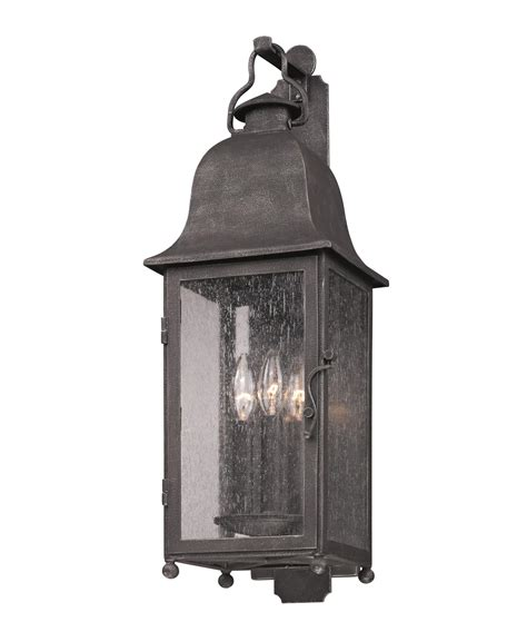 troy lighting b3212 larchmont 3 light outdoor wall light