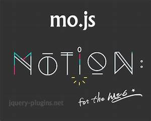 mo.js – Motion Graphics Library for the Web | jQuery Plugins