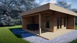 Gartenhaus Mit Lounge : modernes gartenhaus mit terrasse hansa lounge xl 15m youtube ~ Indierocktalk.com Haus und Dekorationen