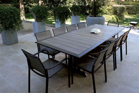Table Metal Jardin Salon De Terrasse Pas Cher Trendsetter