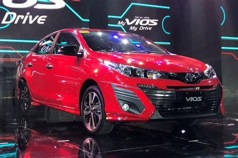 toyota vios  facts figures philippine car news