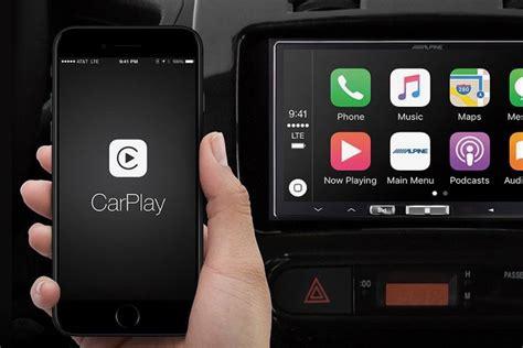 alpines aftermarket wireless apple carplay receiver
