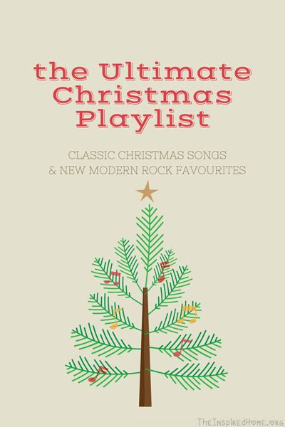 ultimate christmas playlist the ultimate playlist the inspired home