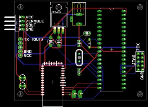 How to draw pcb layout in autocad