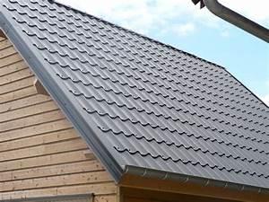 Tole Pour Toiture : tole imitation ardoise toit en chaume oeufenpoudre ~ Premium-room.com Idées de Décoration