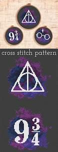 Teppich Knüpfen Vorlagen : set of three harry potter cross stitch patterns platform 9 3 4 deathly hallows sticken ~ Eleganceandgraceweddings.com Haus und Dekorationen