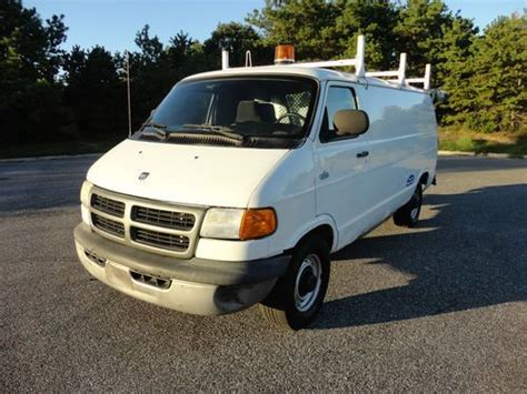 buy car manuals 2002 dodge ram van 3500 spare parts catalogs find used 2002 dodge ram 3500 cargo van cng natural gas ngv hov solo only 52k miles in bellport