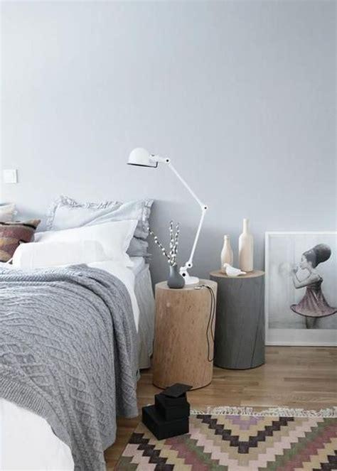 decoration de chambre de nuit table de chevet 30 idées de table de nuit en récup